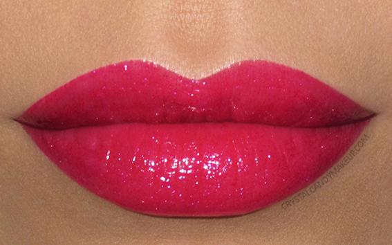 Buxom Shimmer Shock Lipstick Swatch Va Va Voltage
