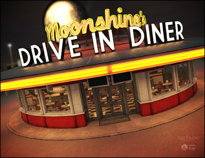 Moonshines Diner Iray Addon