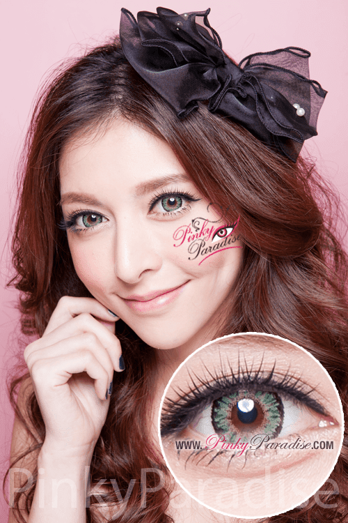 G&G Aurora Green Circle Lenses (Colored Contacts)