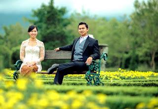 Taman Bunga Untuk Pre-Wedding di Indonesia