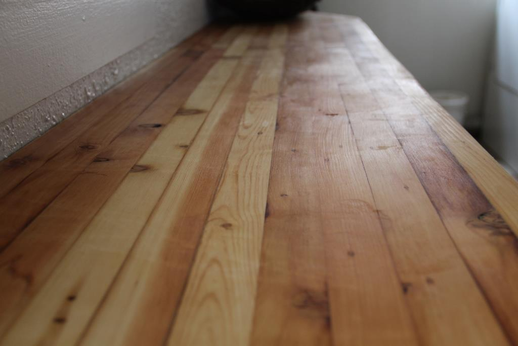 The Homestead Laboratory Butcher Block Counter From