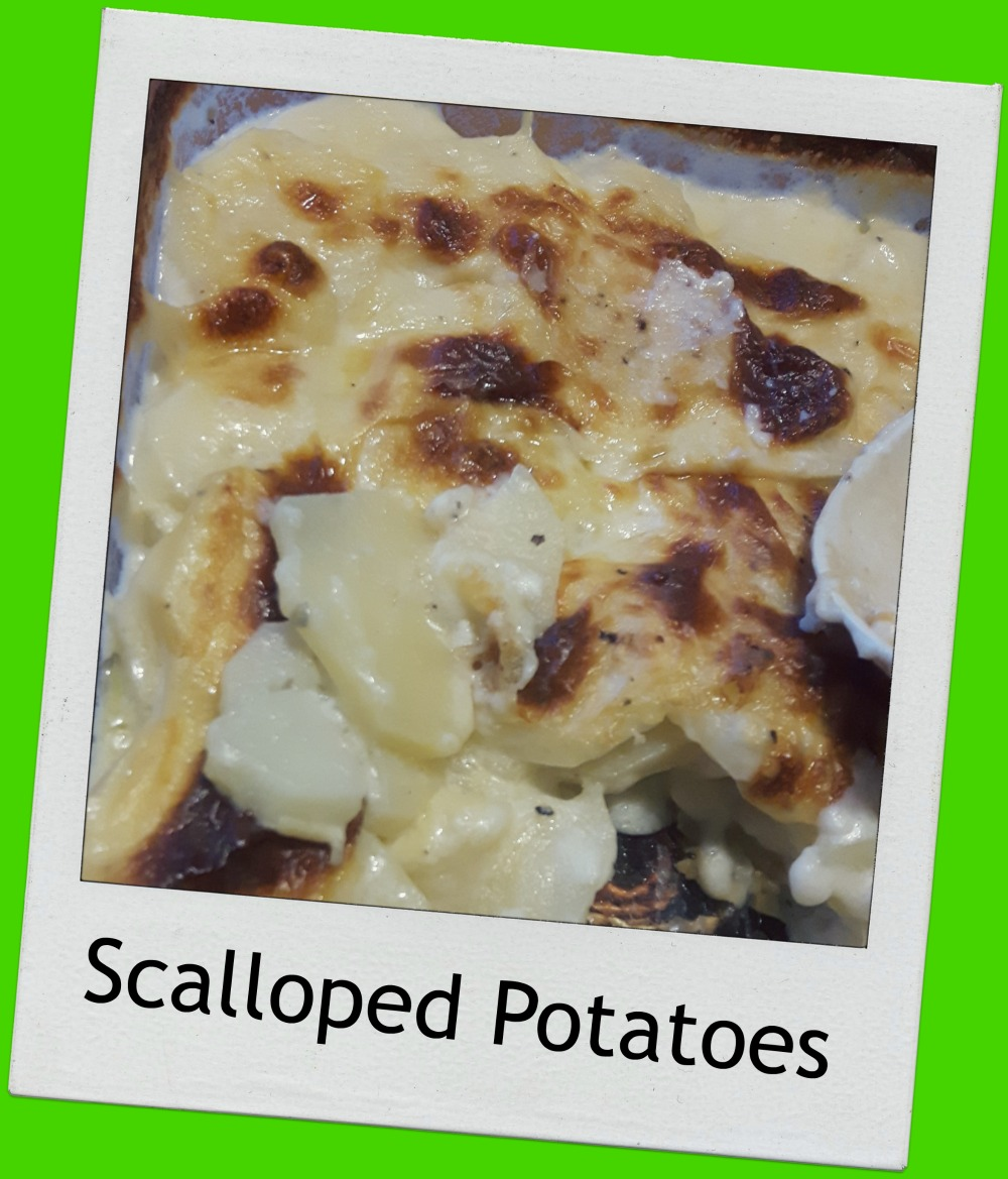 My second time ever making scalloped potatoes. I made some long past ...