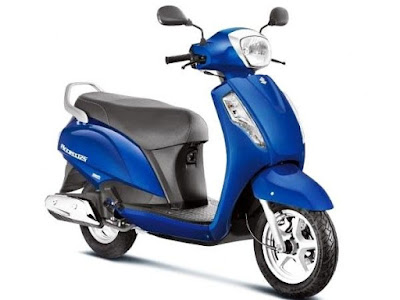 Suzuki Access 125 Right side Front three qauters