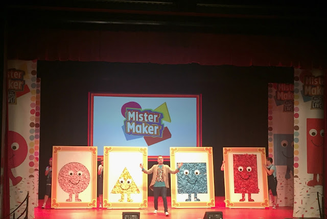 Mister Maker and the shapes live at Whitley Bay