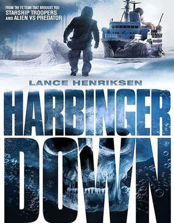 Poster Of Free Download Harbinger Down 2015 300MB Full Movie Hindi Dubbed 720P Bluray HD HEVC Small Size Pc Movie Only At worldfree4u.com