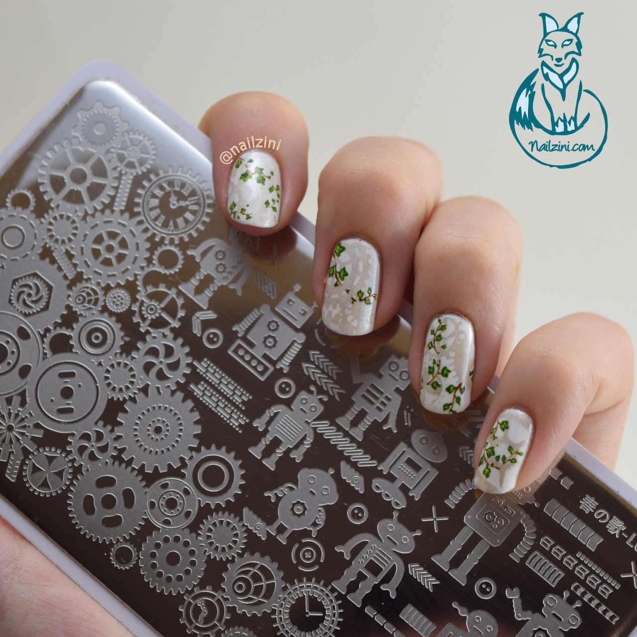 robot design stamping plate