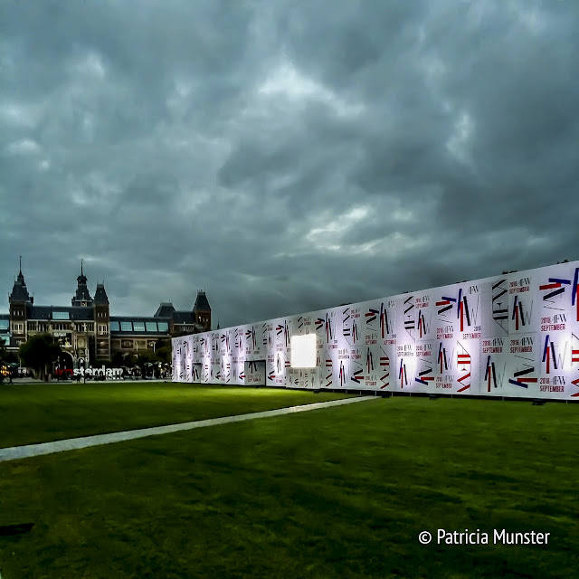 Amsterdam Fashion Week 2018  - tent - Museumplein