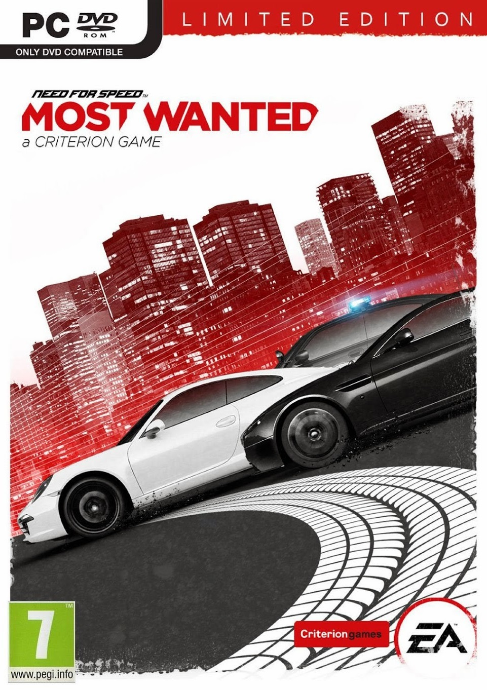 Need For Speed Most Wanted Limited Edition ESPAÑOL PC