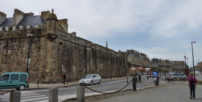 Murallas de Saint Malo.