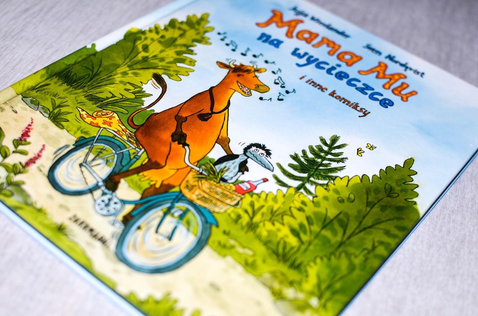 mama mu komiks, książki dla przedszkolaka, literatura skandynawska dla dzieci