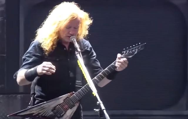 Megadeth sorprende interpretando My last words primera vez 8 años VIDEO