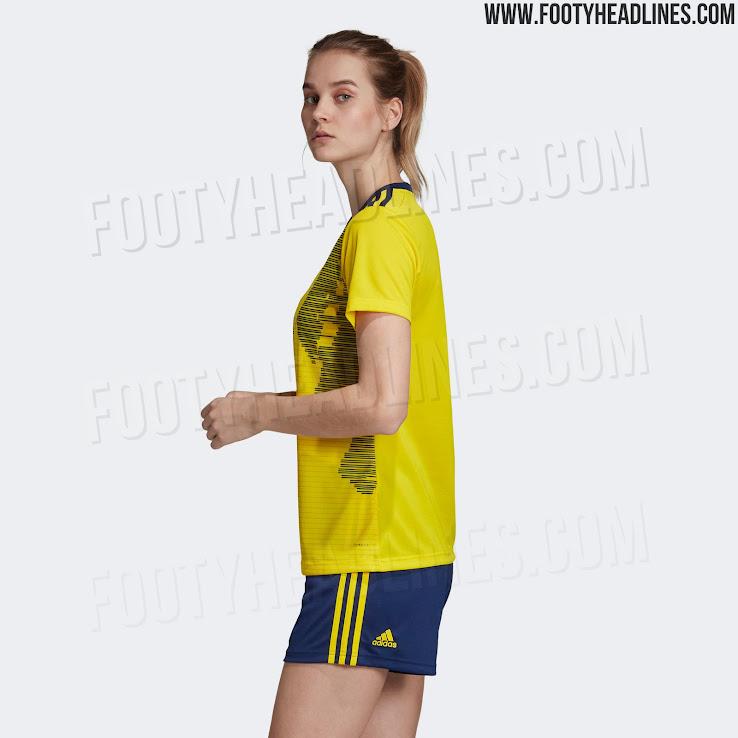Sweden 2019 Women s World Cup Home Kit Released - Footy Headlines 2aefec86d
