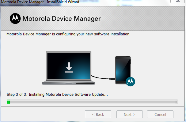 Motorola Device Manager Installation Step 4D