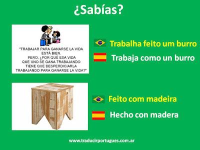 Feito, conjunção comparativa, traducción, portugués, español
