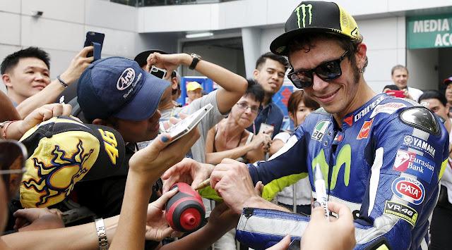 Valentino Rossi Bikin F1 Kalah Pamor dari MotoGP