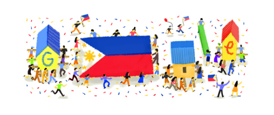Google Doodle 2014 Philippine Independence Day