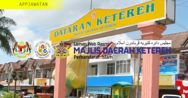 Jawatan Kosong di Majlis Daerah Ketereh Perbandaran Islam