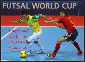 Mengatur Nafas Agar Bermain Futsal Tidak Mudah Lelah