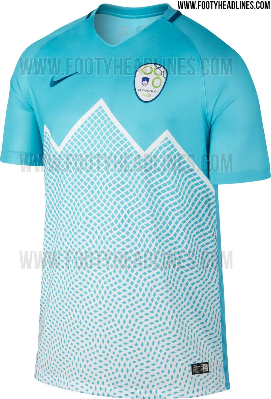 insane slovenia 2016 home and away kits released footy