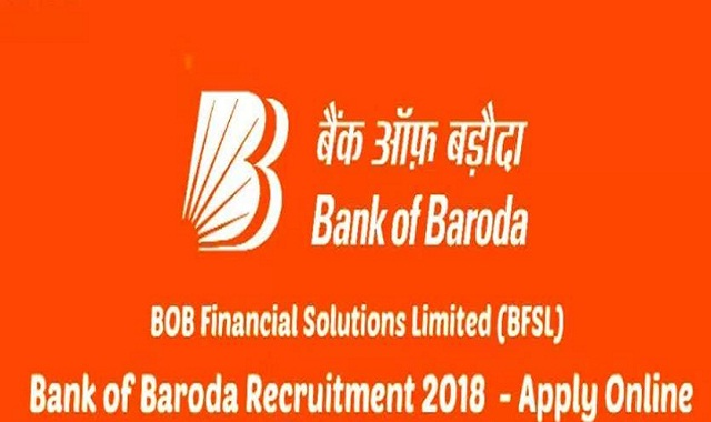 Bob Financial Solutions Limited Recruitment 2018 Apply