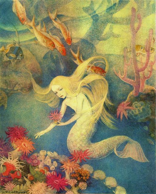 Image result for little mermaid illustration