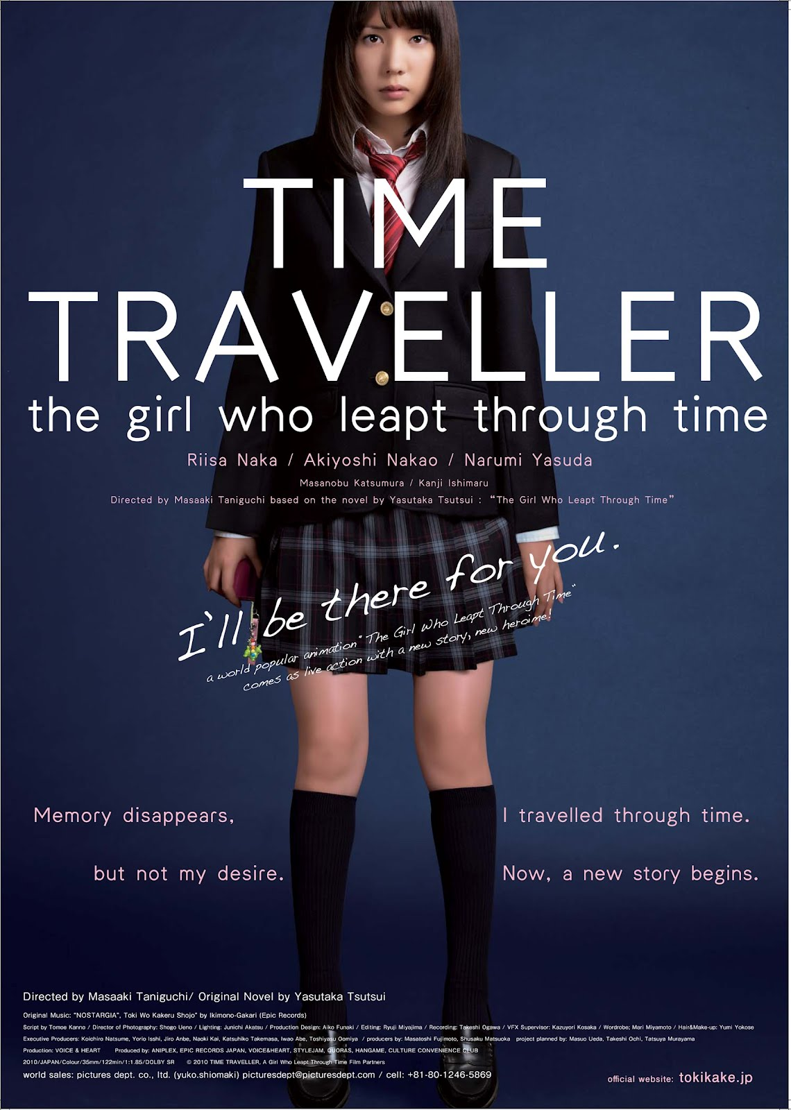 Time Traveler The Girl That Leapt Through Time