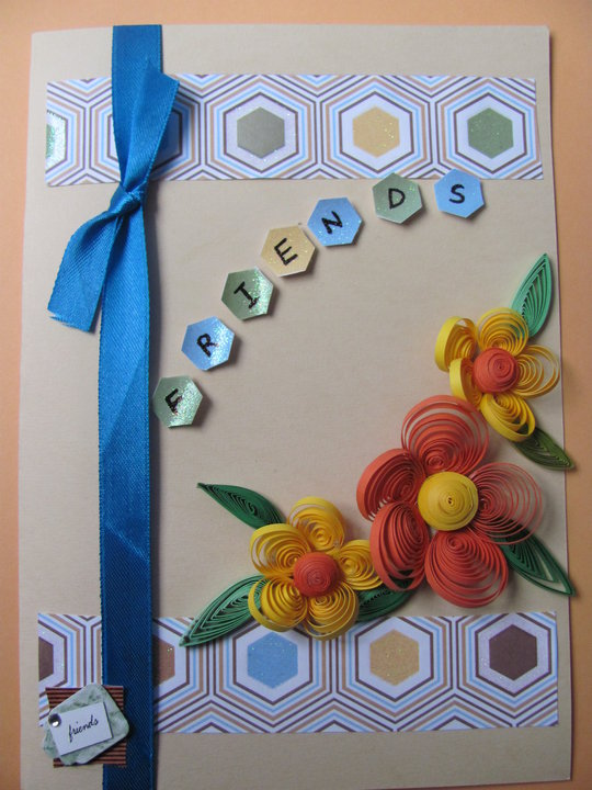 New paper quilling designs of greeting cards creative art craft work share this story m4hsunfo
