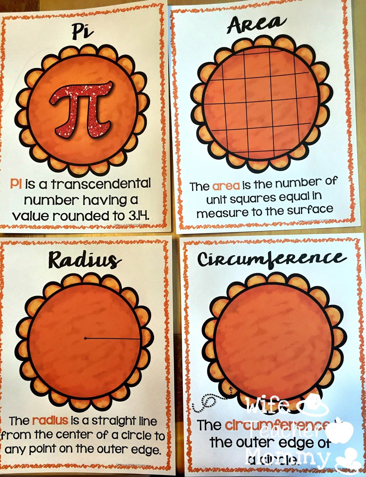 You Can Find Area And Circumference Are Easy As Pie In My Teachers Pay  Teachers Store