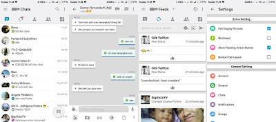 BBM Like Ios V3.1.0.13 Apk