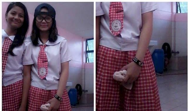Fantasma Aparece em Selfies Tirada por Alunos em uma Escola nas Filipinas