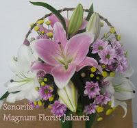 Aster Lily Bunga Cantik Jakarta