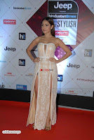 Nushrat Bharucha Looks stunning in a deep neck leg Split cream designer gown stunning beauty ~  Exclusive 011.JPG