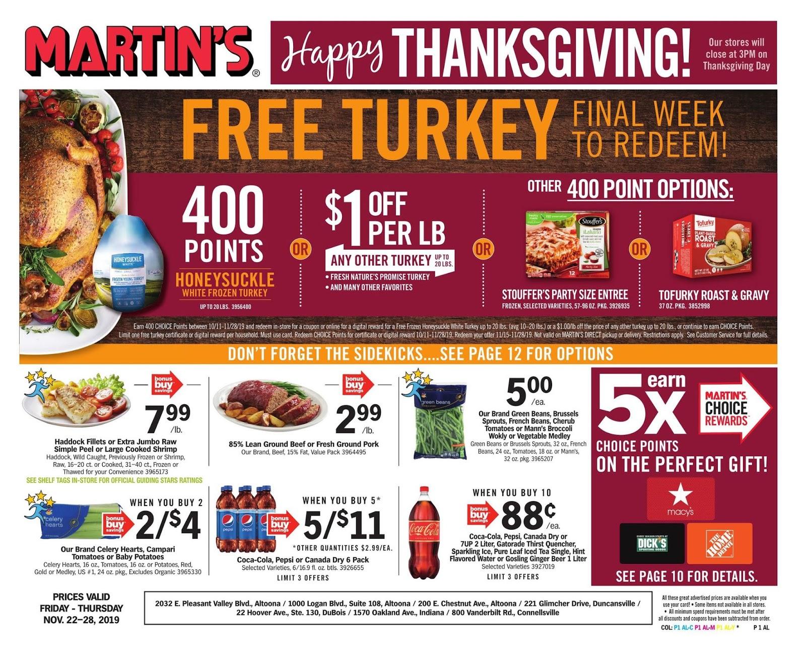 Martins Weekly Ad