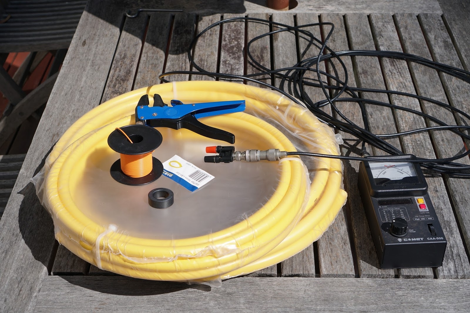 marxy's musing on technology: Simple pexal magnetic loop