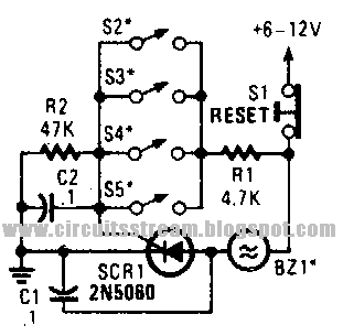 Second Parallel Loop Alarm Circuit Diagram