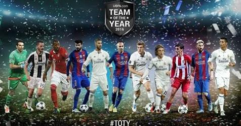 Intro Team Of The Year 2016 For PES 2016 / 2017 by PesScreen