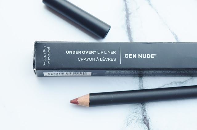 Bare Minerals Gen Nude Under Over Lip Liner in On Point