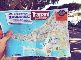 mapa Trapani