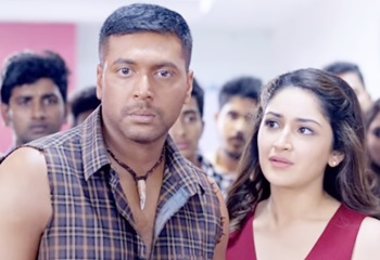 Vanamagan – love scene | Jayam Ravi, Sayyeshaa | Harris Jayaraj | A. L. Vijay