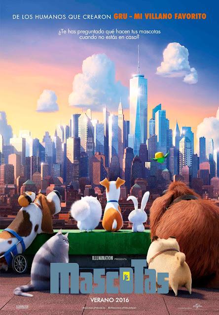 Cartel: Mascotas (2016)
