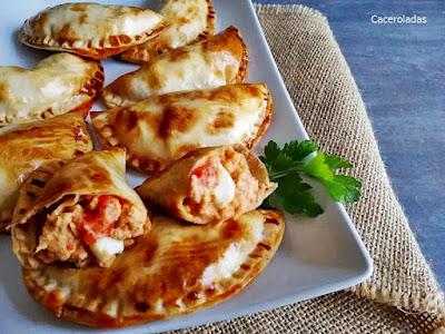 Empanadillas sencillas de atún y huevo