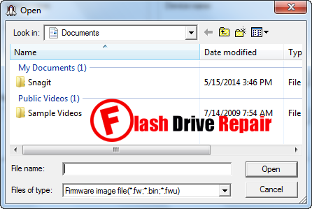 How to upgrade mp3/mp4 player firmware flash drive repair.