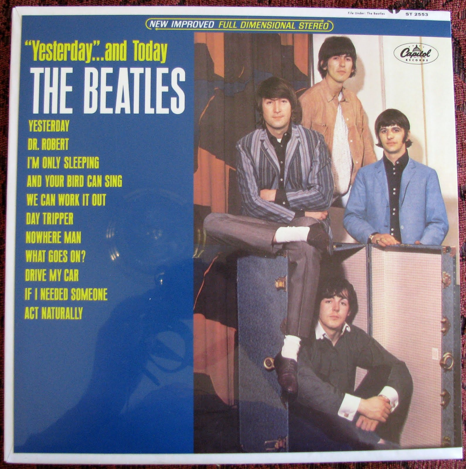 beatles yesterday and today. Black Bedroom Furniture Sets. Home Design Ideas