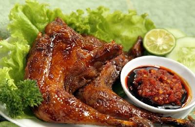 Resep Ayam Bakar Spesial Padang