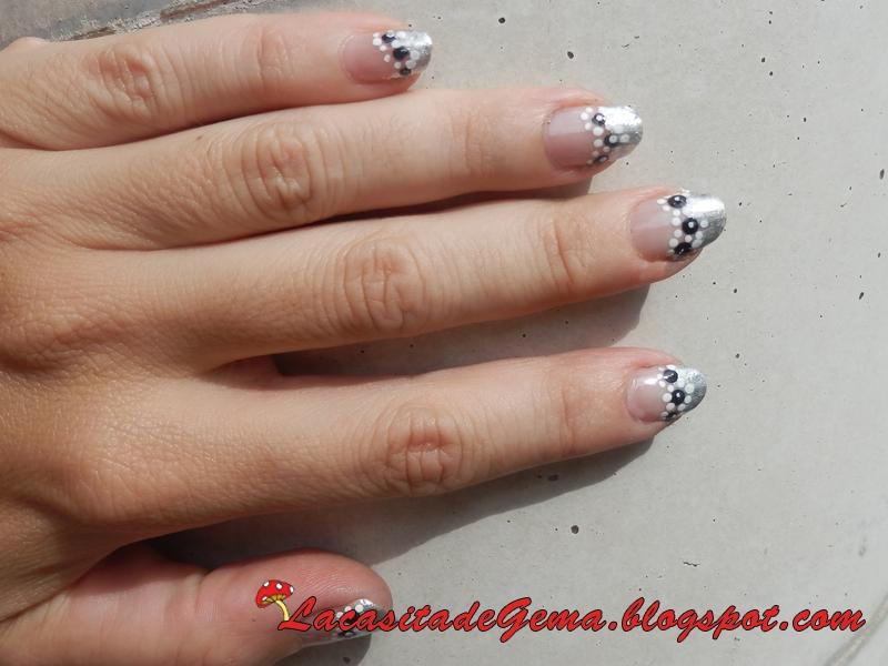 La Casita De Gema Tutorial Uñas Decoradas Nail Art Nº42 Pequeñas