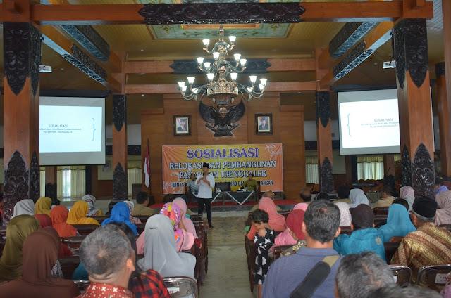 Pedagang Pasar Pon Sepakat Terkait Relokasi dan Pembangunan Segera Dilaksanakan