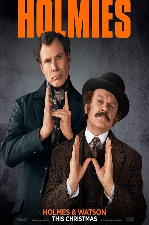 Review Filem Holmes And Watson