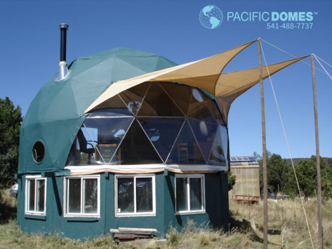 Geodesic Dome Houses - Sustainable Shelters & Shelter Domes - Dome Homes by Pacific Domes: Geodesic Dome Houses ...