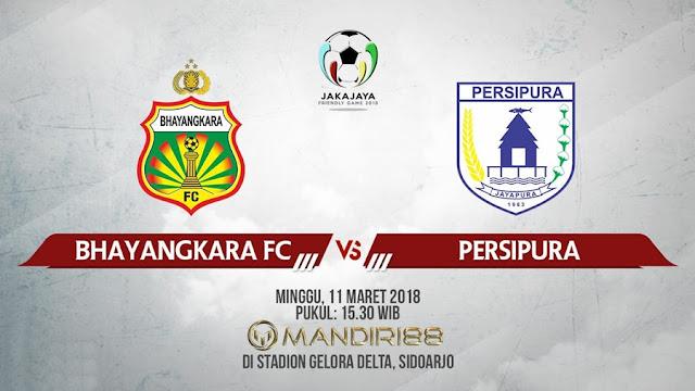 Prediksi Bhayangkara FC Vs Persipura Jayapura, Minggu 11 Maret 2018 Pukul 15.30 WIB
