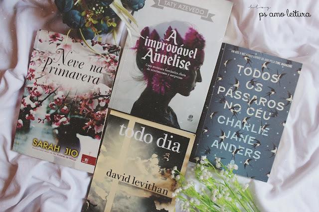livros lidos em agosto